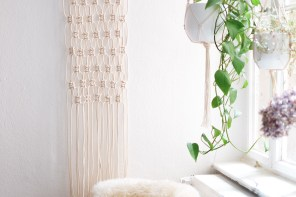 Interior: Super Easy <br> DIY Macrame Wall Hanging Tutorial
