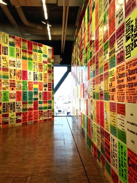 Vue d'exposition. Photographie par Alexia Lalangue