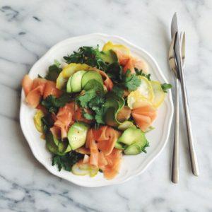 salad, simple recipe, heylittlerebel.com, hey little rebel