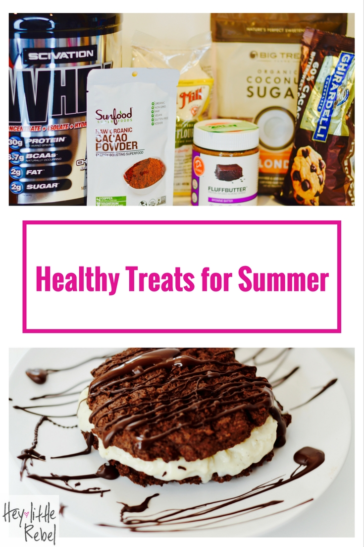 This summer has been a hot one! Cool off with these healthy treats that won't derail your progress.