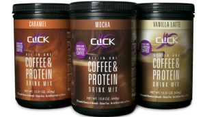 Click, drink click, coffee and protein, coffee review, hey little rebel, heylittlerebel.com