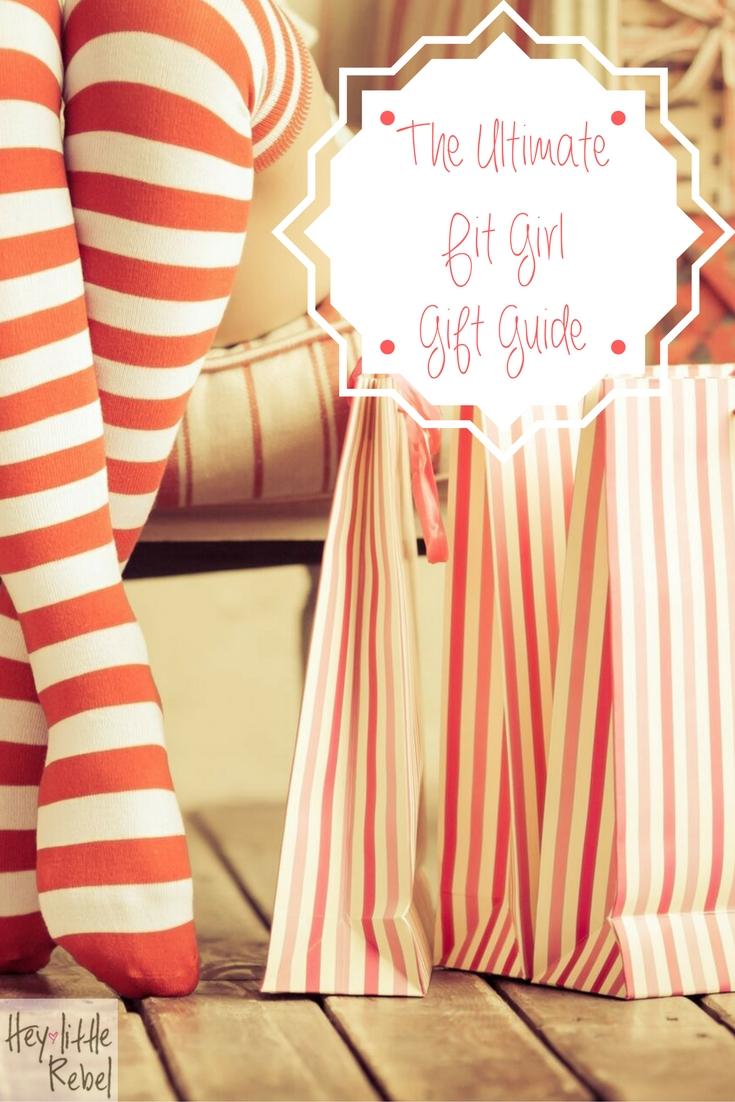 Have a fit chick in your life and stumped on what to get her this year? No problem! My fit girl gift guide is packed full of gift ideas she'll LOVE. Check it out at Hey Little Rebel!