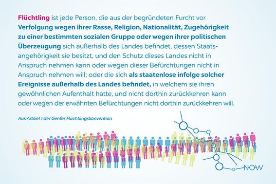 now-conference Artikel 1 der Genfer Flüchtlingskonvention (c)kheymach, Corporate Design