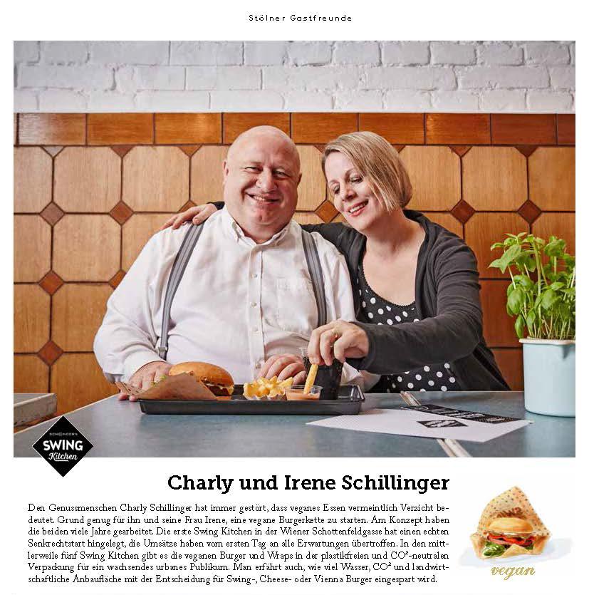 Zutat 11/2017 Gastfreunde Charly und Irene Schillinger (c)kheymach Magazindesign
