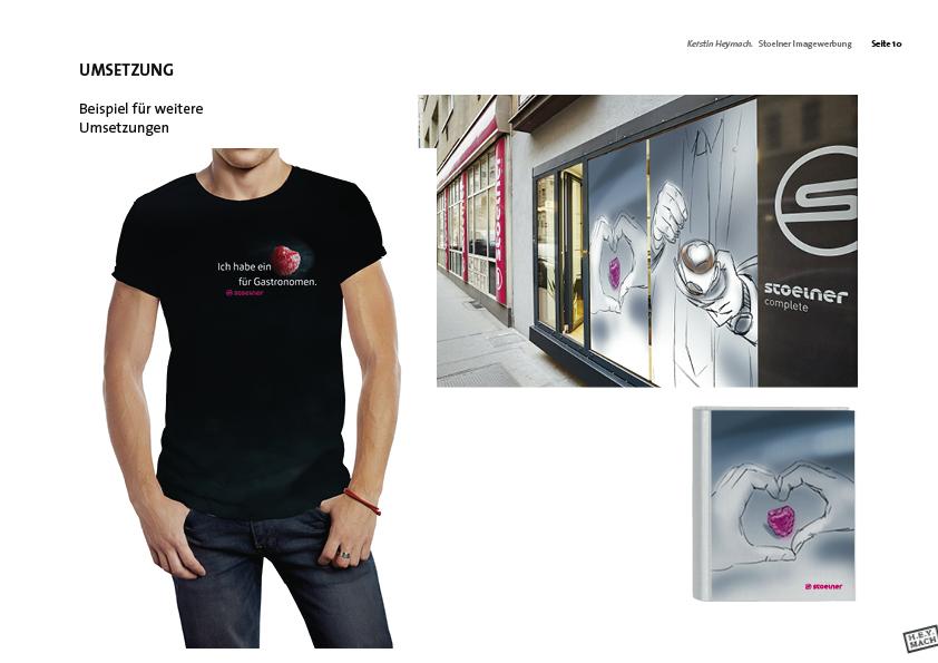 Präsentation Stölner-Image-Werbung Outdoor/Merchandising