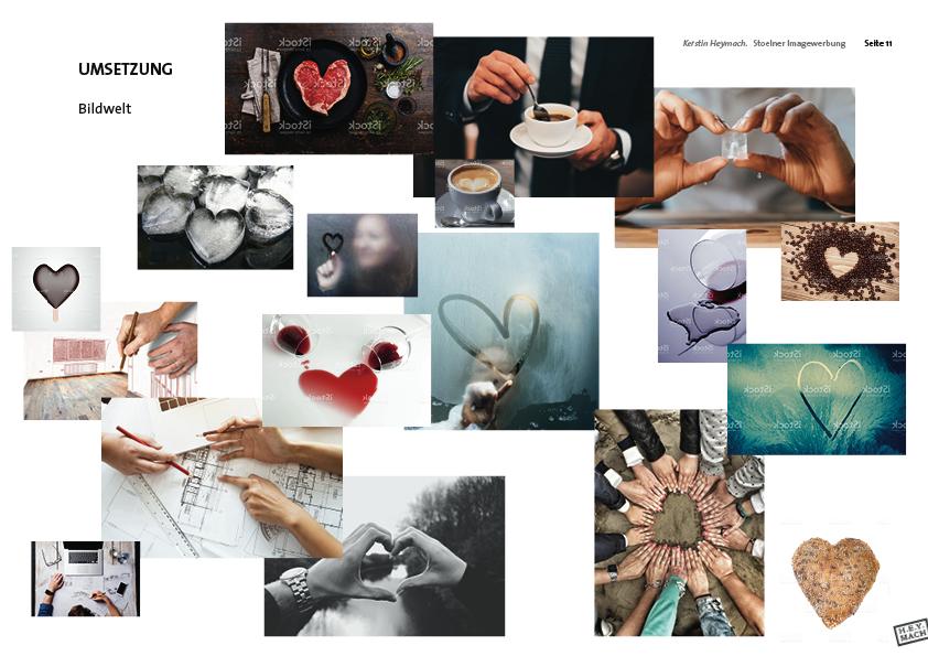 Präsentation Stölner-Image-Werbung, Bildwelt