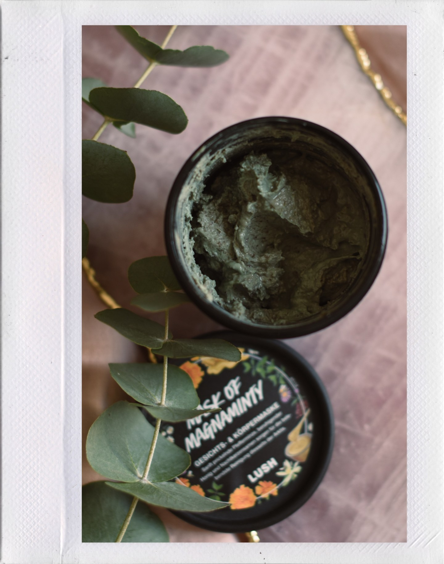 Lush Cosmetics Mask of Magnaminty self-preserving
