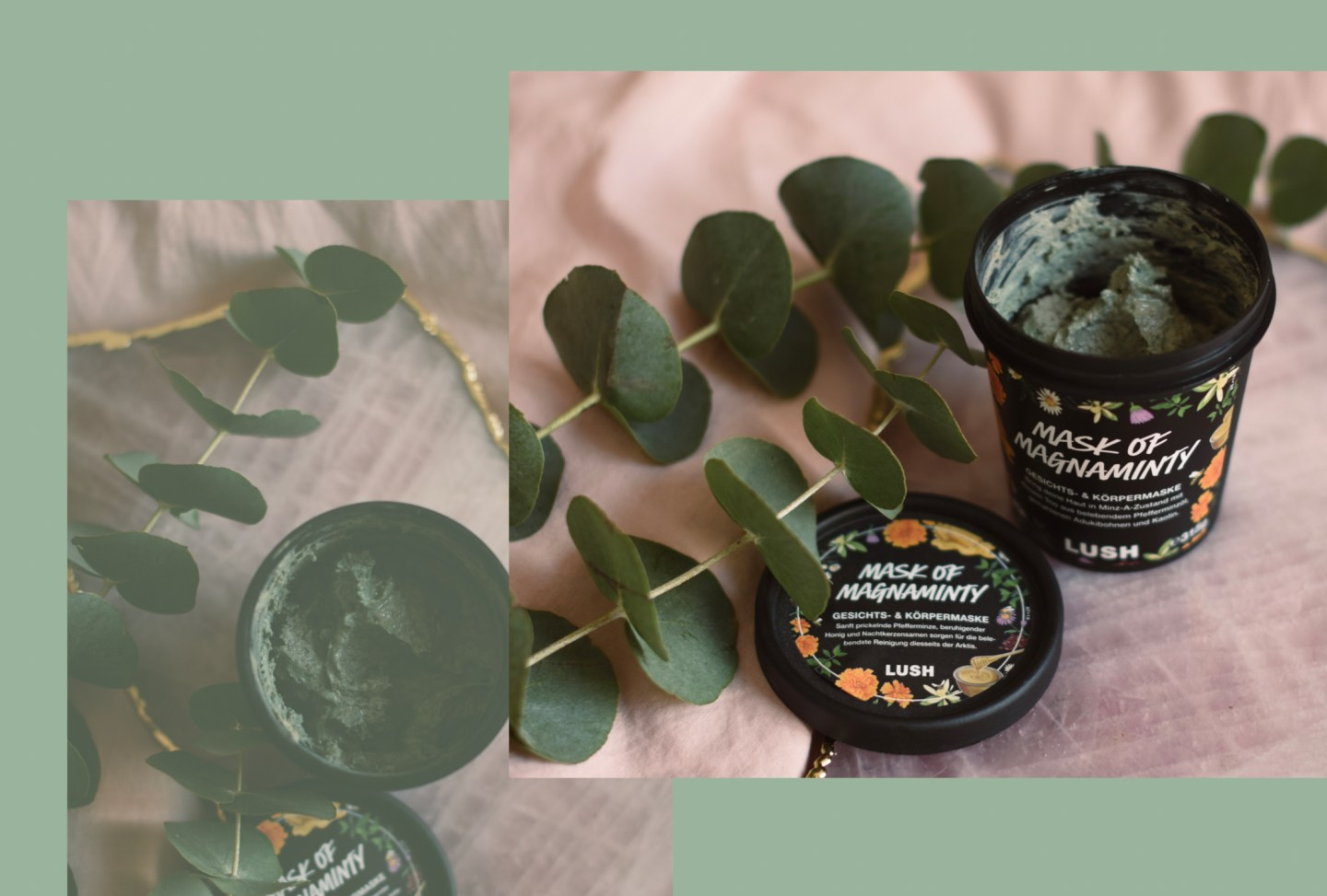 Lush Cosmetics: Mask of Magnaminty self-preserving
