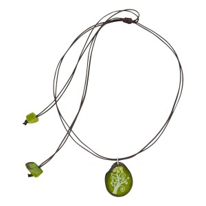 Authentic Fair Trade Necklace - Magic Forest Necklace
