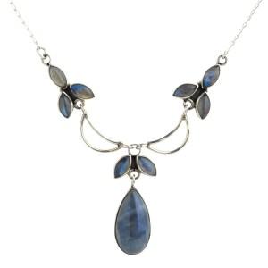 Labradorite & Sterling Silver, Authentic Fair Trade - Nllc t-drops/labradorite/strg