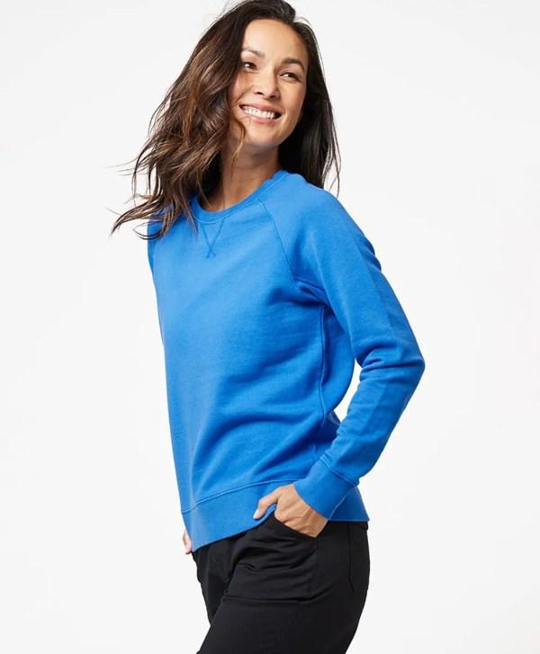 Women's Cobalt Essential Sweatshirt XS