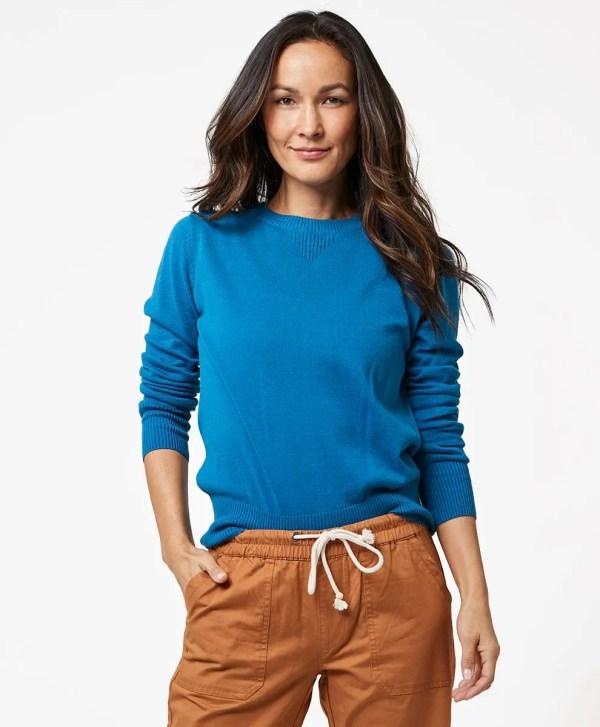 Women's Deep Ocean Sweater Sweatshirt M