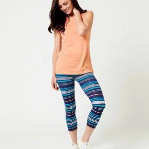 Women's Resort Stripe Go-To Cropped Legging XS