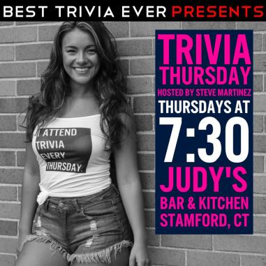 Best Trivia Ever Judy's Hey Stamford