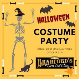 Bradfords Stamford Halloween 2018