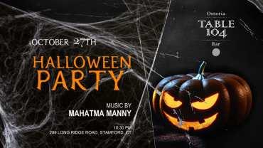 table 104 Halloween Stamford