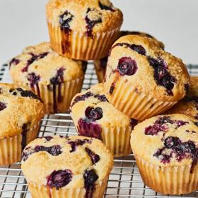 Moist blueberry muffin recipe