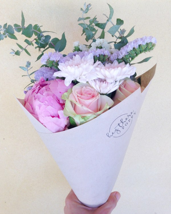 Fresh Flower Daily Posy Pastel Mix