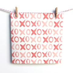 XO Love Bank Handmade Greeting Card