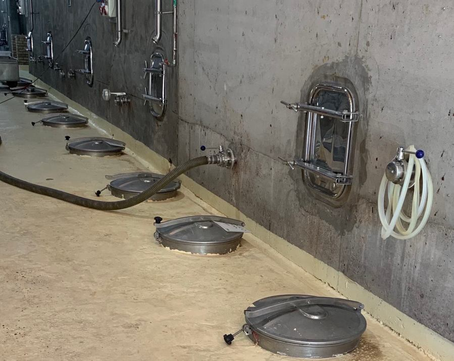 Domaine Bousquet fermentation area.