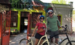biking in Chacras de Coria, Lujan de Cuyo