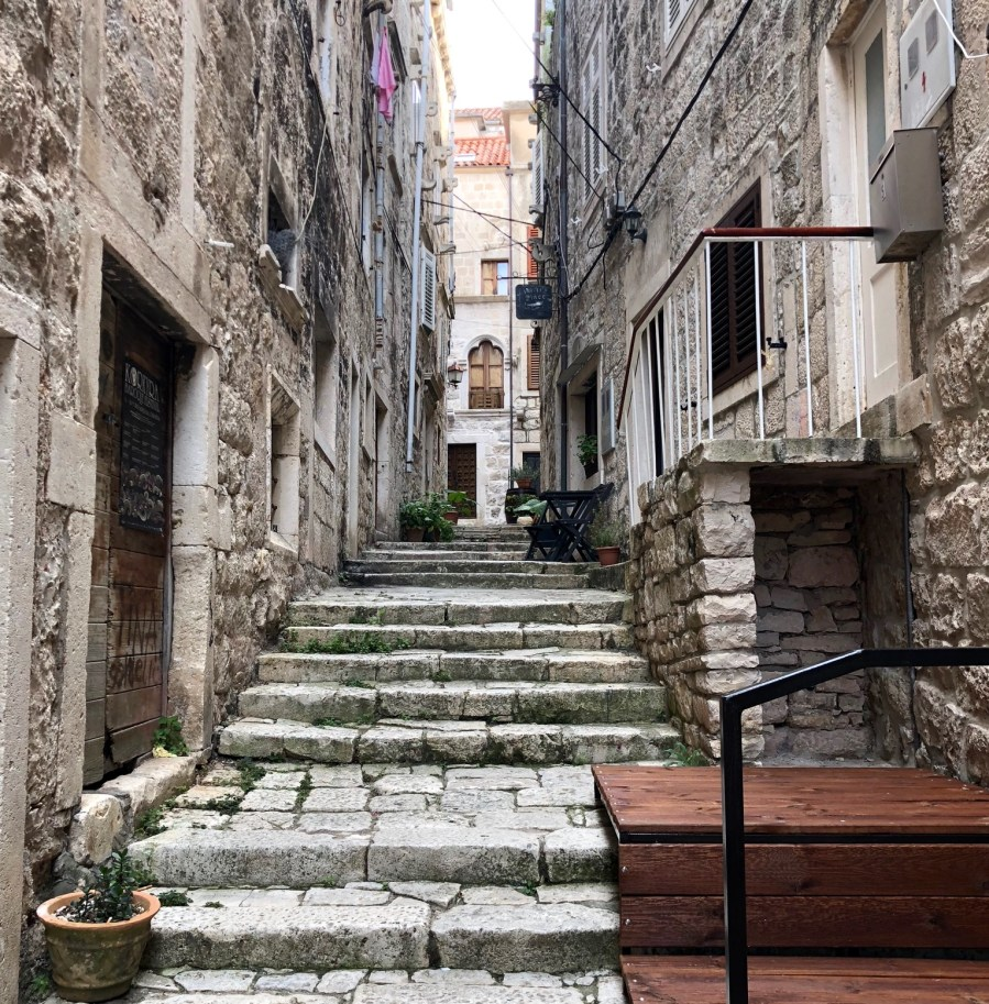 beautiful architecture in Korcula