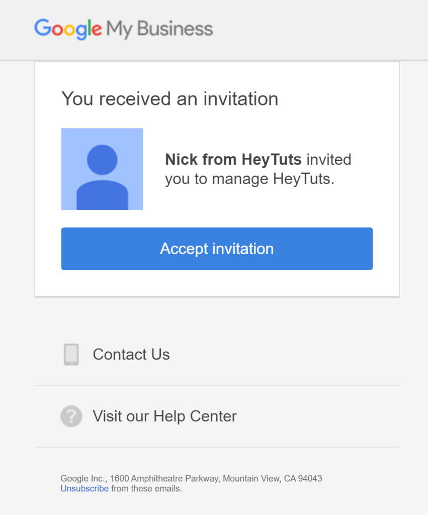 Change YouTube Email Address - 6 accept your email invitation