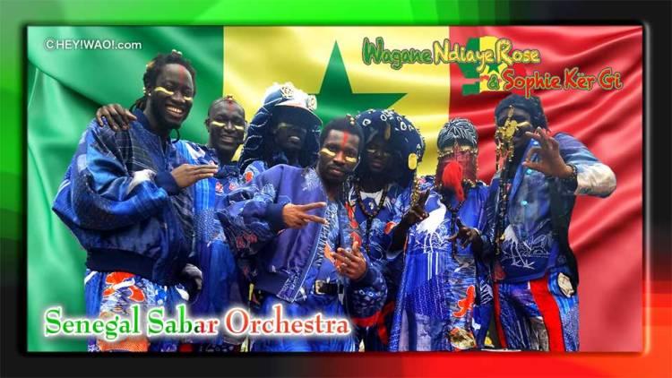 Wagane Ndiaye Rose & Sophi Ker Gi、Senegal Sabar Orchestra