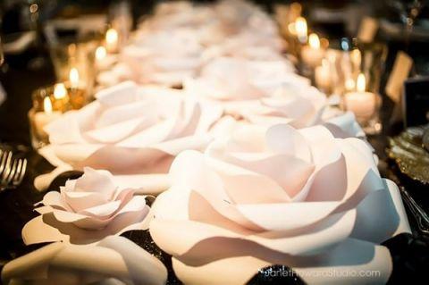 Paper Flower Decorations Make Cm Party Wedding Wall Decoration Artificial Flowers Romantic