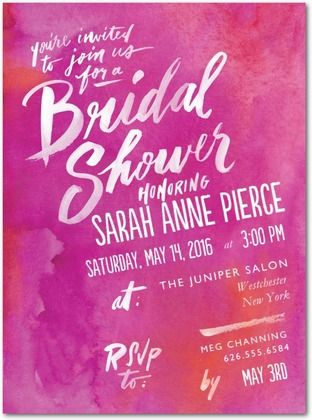 Bridal Shower Invitations Wedding Shutterfly