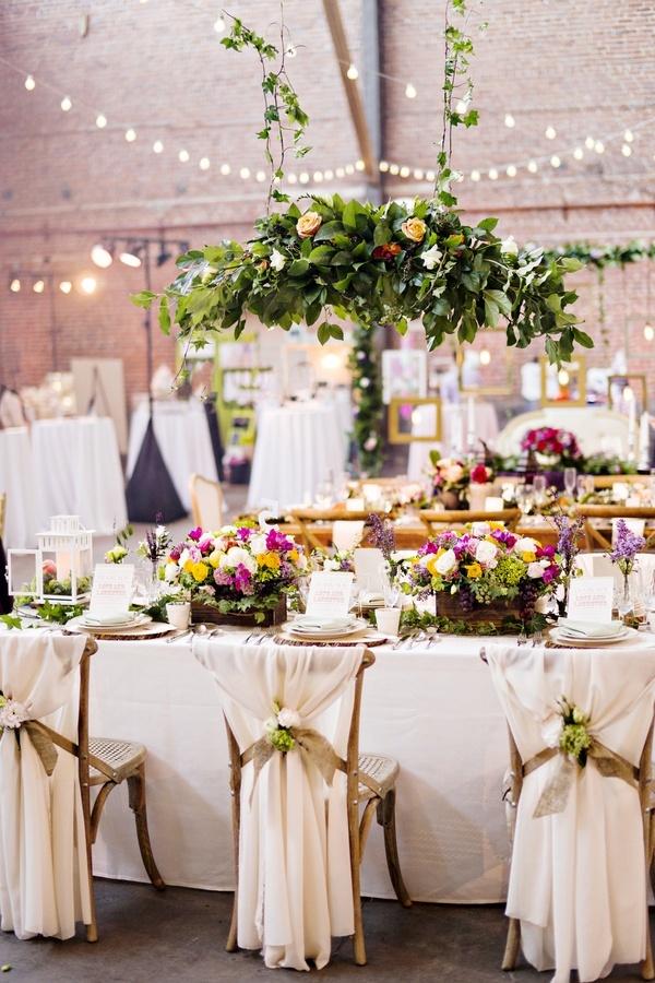 Outdoor Wedding Reception Table Decorations