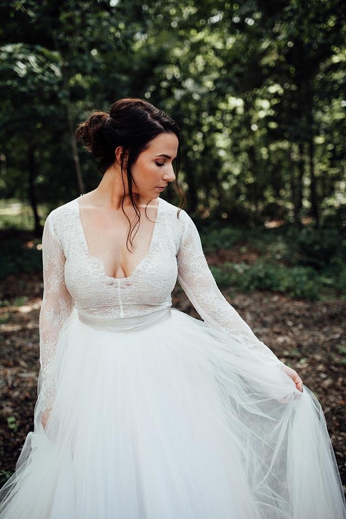 Fall Wedding Woods