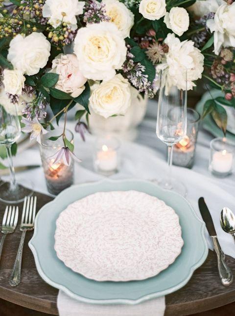 Garden Style Wedding Bouquet