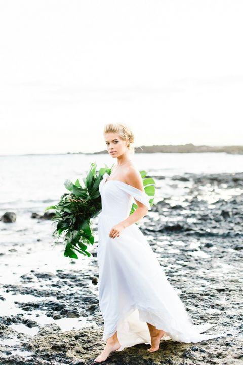 Maui Sunrise For An Ethereal Beach Bridal Shoot Hey
