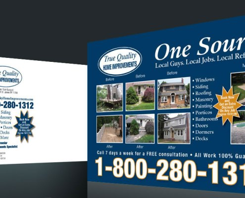 Postcard Design and Marketing Home Improvement