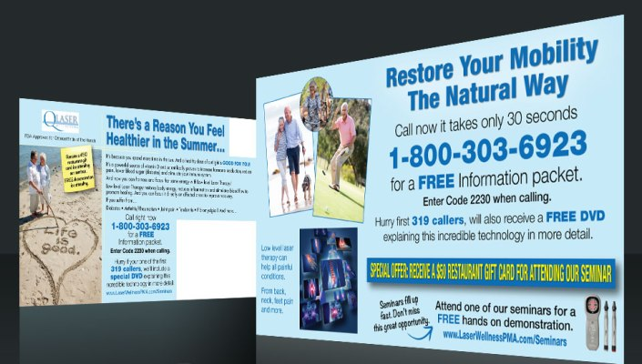 Postcard Marketing Health Care