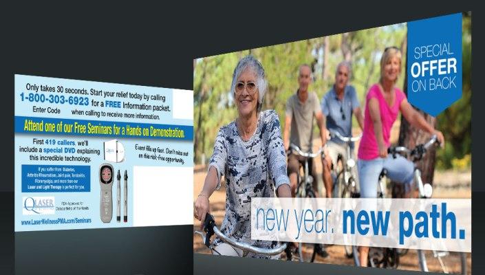 Postcard Marketing Printing Health Care