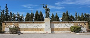 General view of the Leonidas' monument