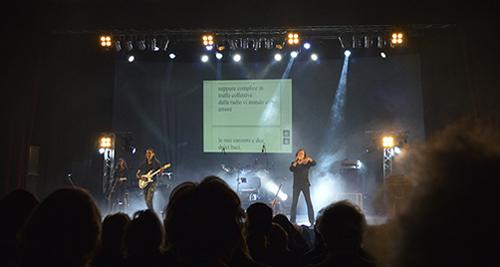 Vassilis Papakonstaninou in Trieste, Sala Tripcovich, 6 dicembre 2016.