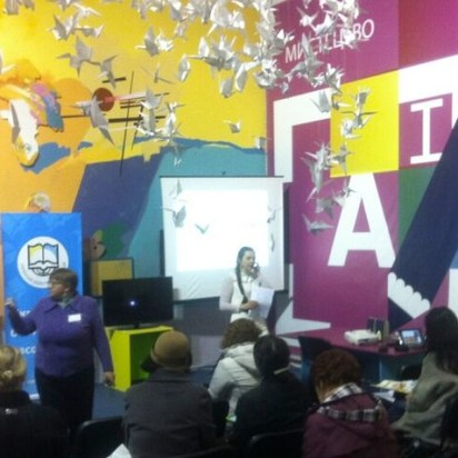 Kiev, 5th International Book Fair, 2015 - Children's event.