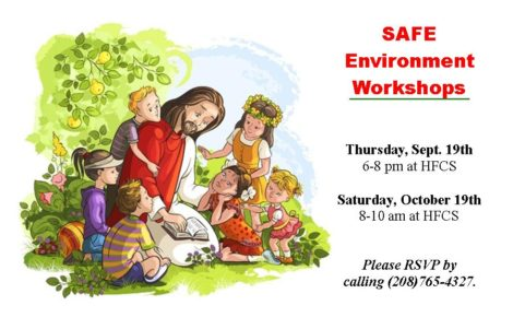 Safe Environment Workshops