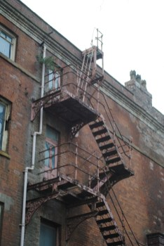 Stairs... fire escape