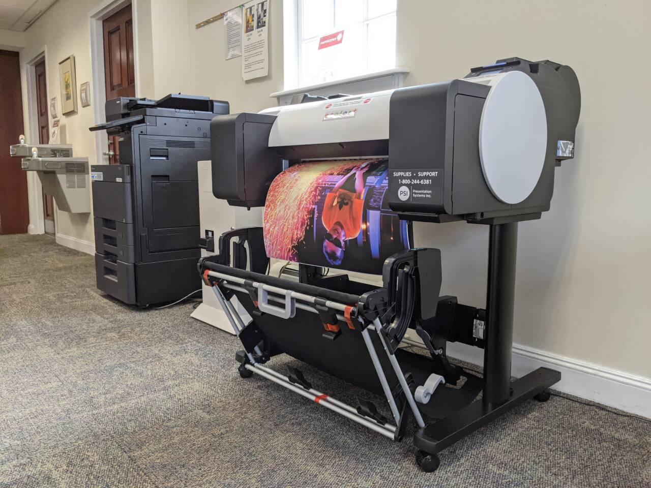 poster printer hillsdale free public