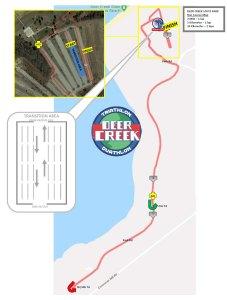 FIT Deer Creek Run map