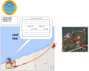 Course map - Vermilion - kidz race