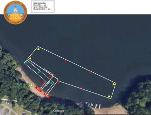 FIT Family Series: Portage Lakes Swim course map
