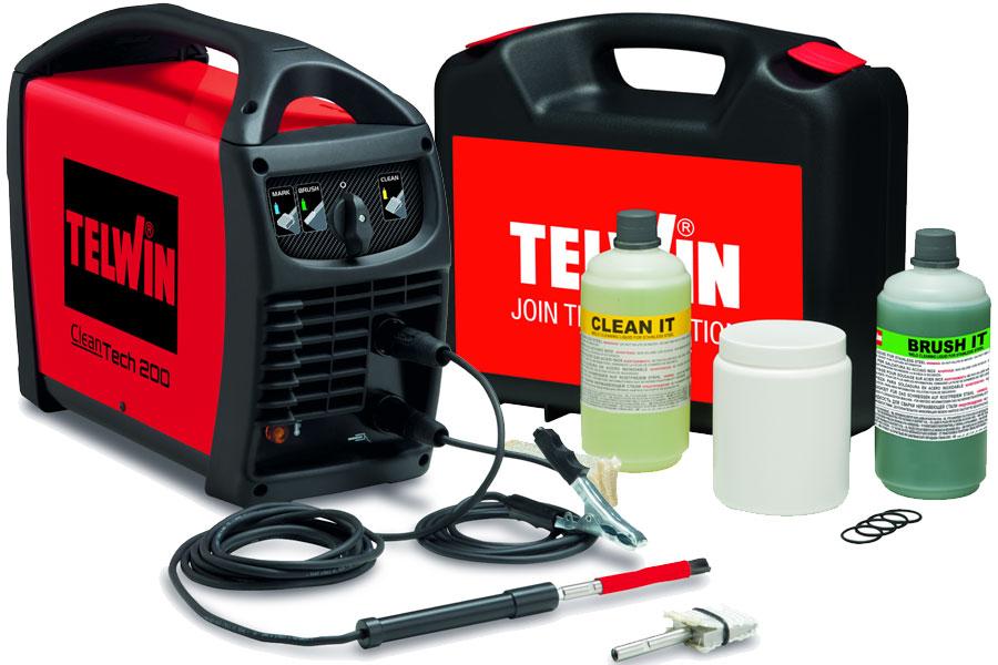 Schweißnahtreinigungsgerät Cleantech 200 von Telwin