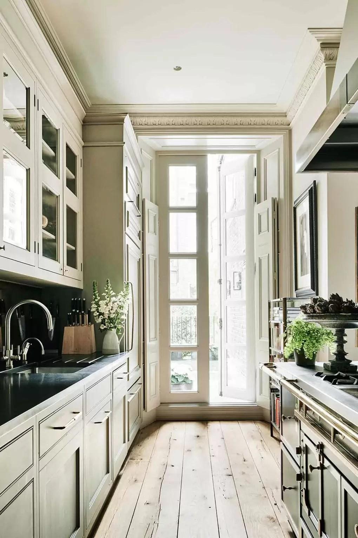 Glamorous Galley Kitchens Small Kitchens Design Ideas