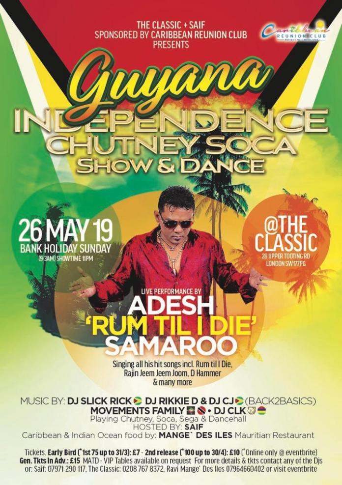https://www.eventbrite.co.uk/e/guyana-independence-chutney-soca-show-dance-tickets-56629615705