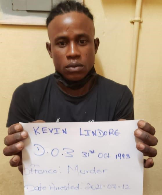 Kevin Lindore is charged with murder